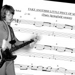 "Bass Transcription: John Paul Jones' Bass Line on Dusty Springfield's ""Take Another Little Piece of My Heart"""