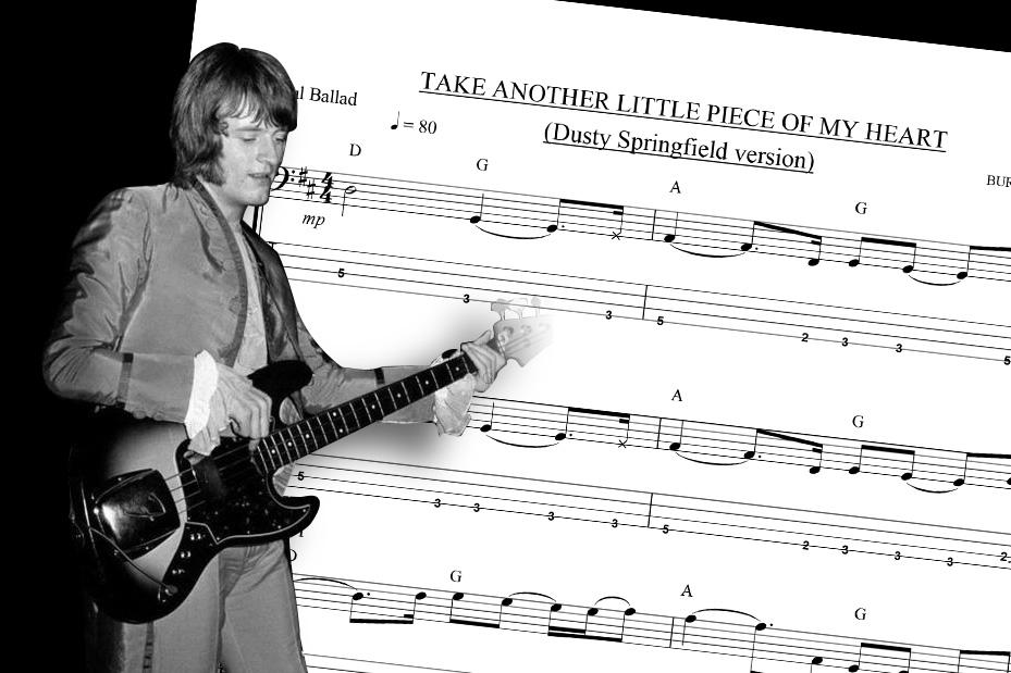 Bass Transcription: John Paul Jones' Bass Line on Dusty
