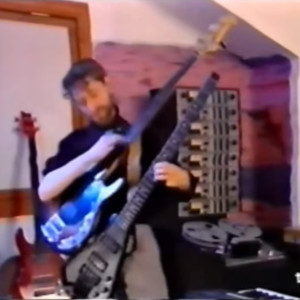 Michael Manring Playing Two Basses at Once