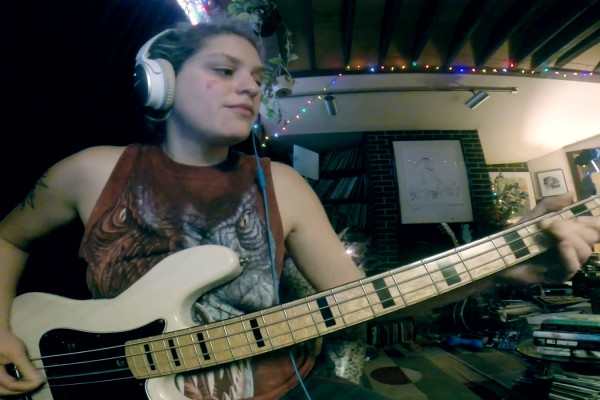 "Julie Slick: Adrian Belew Power Trio ""B3"" Bass Playthrough"