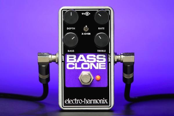 Electro-Harmonix Unveils Bass Clone Chorus Pedal