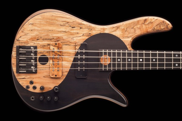 Fodera Unveils Victor Wooten Yin Yang Deluxe Series III Bass
