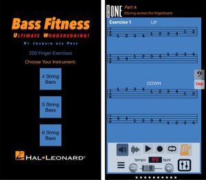 The Bass Fitness App Screenshot