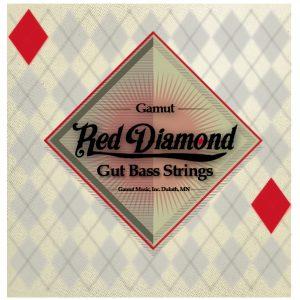 Gamut Music Announces Red Diamond Gut Double Bass Strings
