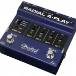 Radial Engineering Announces the 4-Play Direct Box