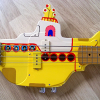 Bass of the Week: The Painted Player Yellow Submarine Bass