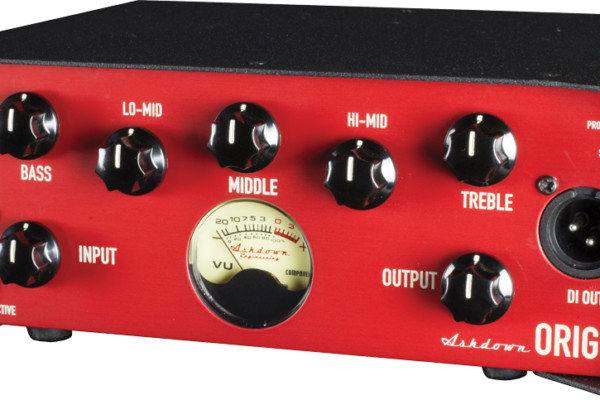 Ashdown Reveals Origin Bass Head and Tube Preamp/DI
