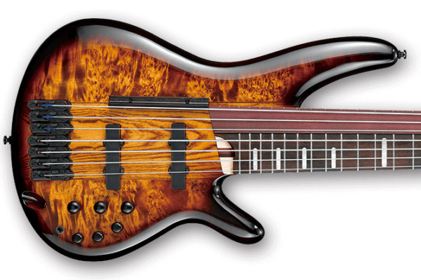 Ibanez Introduces the Ashula SRAS7 Hybrid Fretted/Fretless Bass