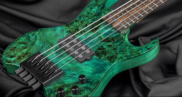 Kiesel Guitars Introduces Amos Williams Signature Vader Bass