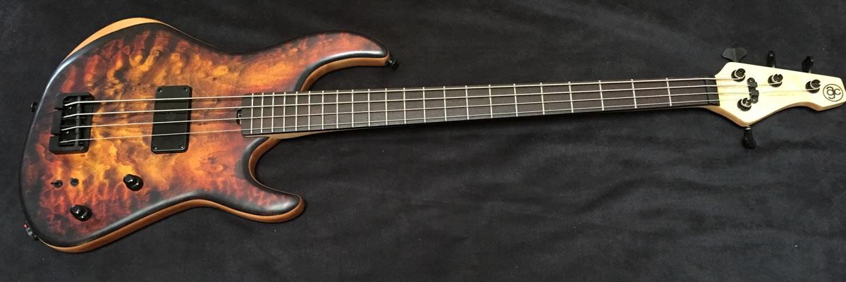 AC Guitars RetroB 1-Pickup Bass