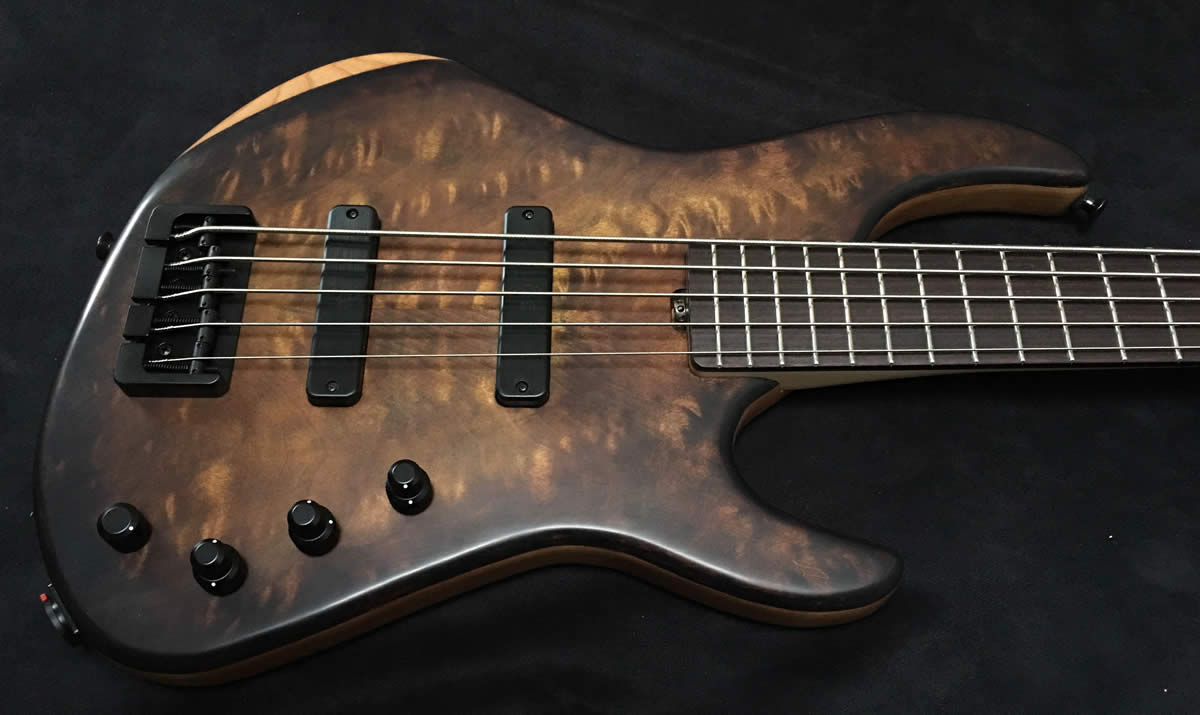 AC Guitars RetroB Bass 2-pickup Body
