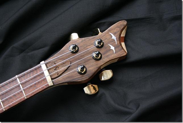 AJR Guitarmods Piccolo Bass Headstock