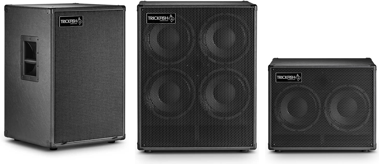 Trickfish Amplification Bass Cabinets