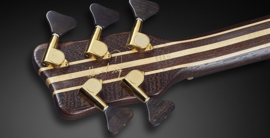 Warwick Thumb NT 5 Limited Edition 2017 Bass Back of Headstock