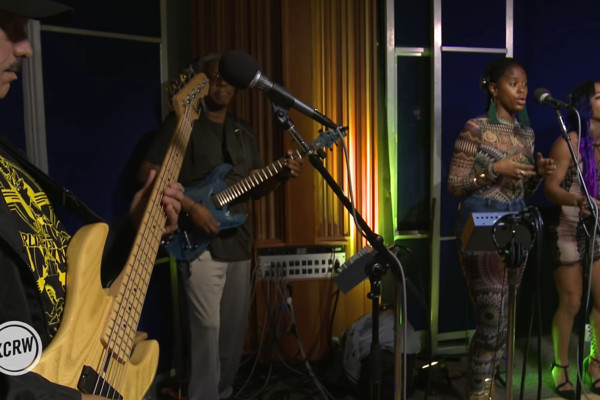 Funkadelic: Tear The Roof Off The Sucker, Live on KCRW