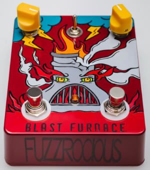 Fuzzrocious Pedals Blast Furnace Pedal