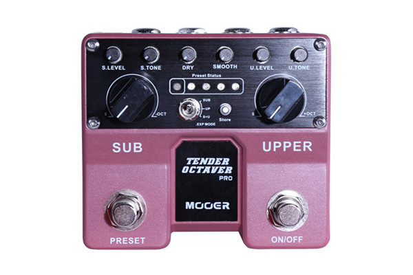 Mooer Audio Introduces Tender Octaver Pro Pedal
