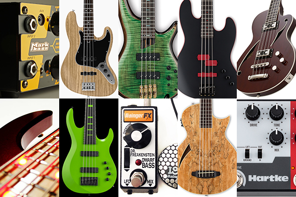Bass Gear Roundup: The Top Gear Stories in April 2017