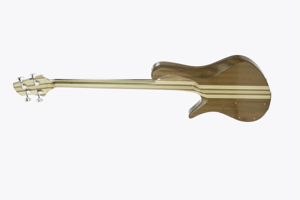 Frederiek de Vette's Singlecut Fretless Bass Back