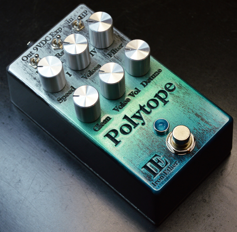 Iron Ether Polytope Quad-Voice Detuner