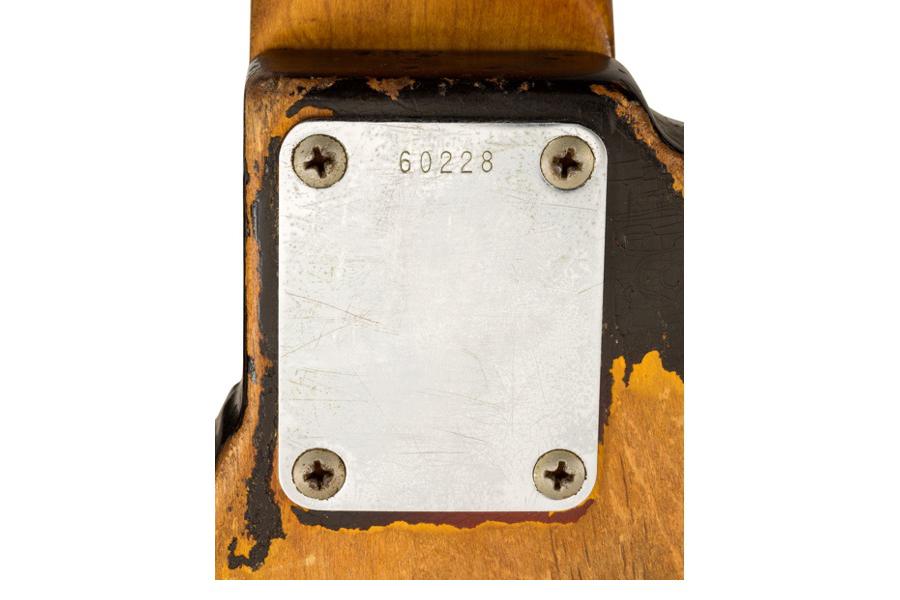 James Jamerson Bass Neck Plate