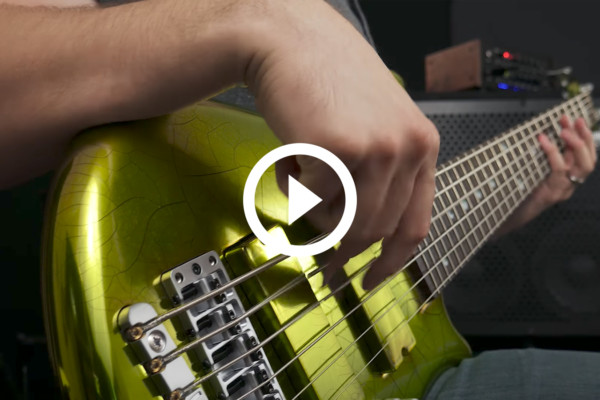 "Mark Michell: Bass Playthrough of Tetrafusion's ""10,001"""