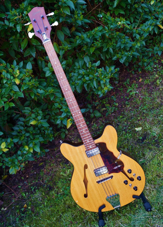 1964 Egmond Princess Bass Angle