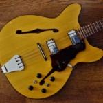 Old School: 1964 Egmond Princess Bass