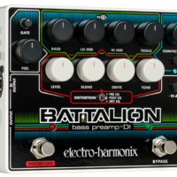 Electro-Harmonix Unveils the Battalion Bass Preamp
