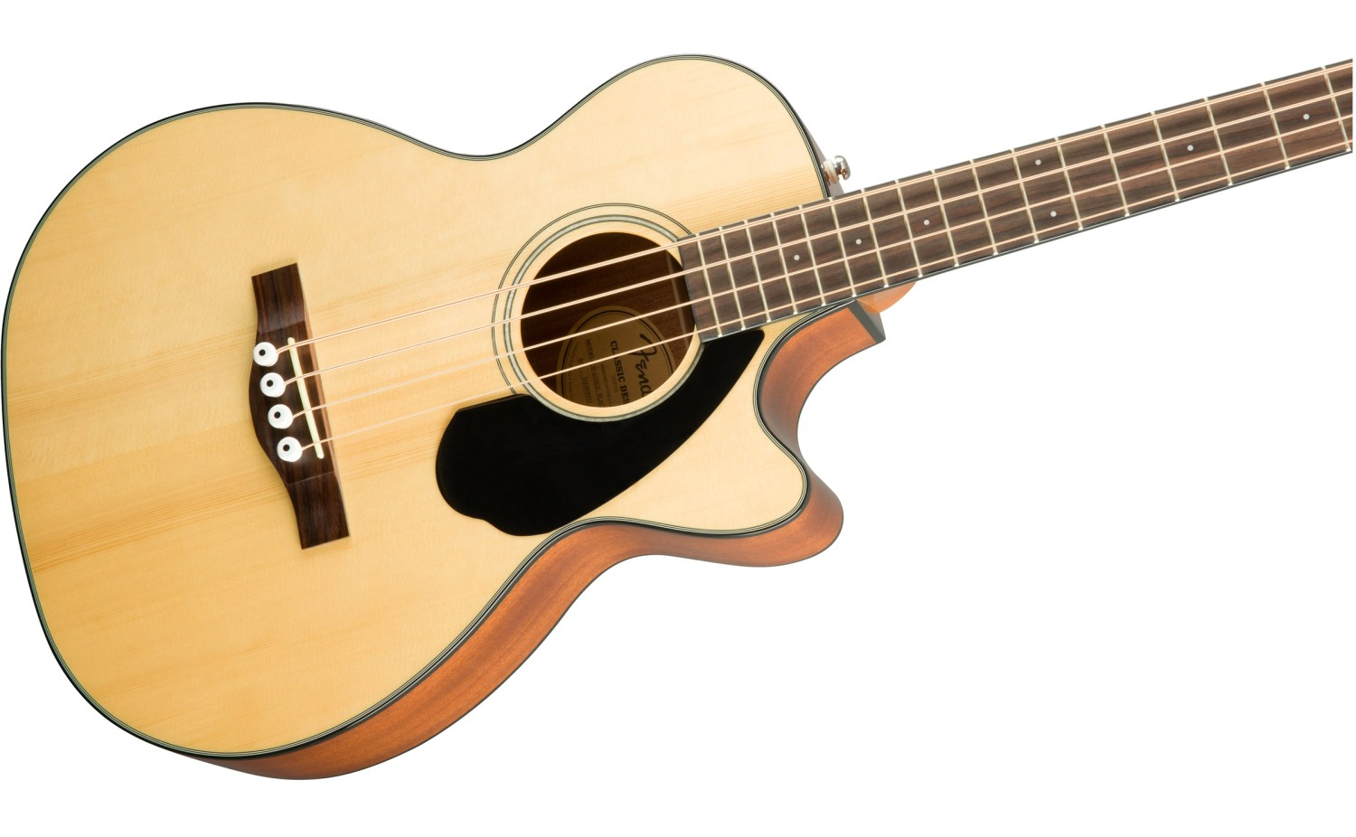 Fender CB-60SCE Acoustic Bass Guitar Natural Body