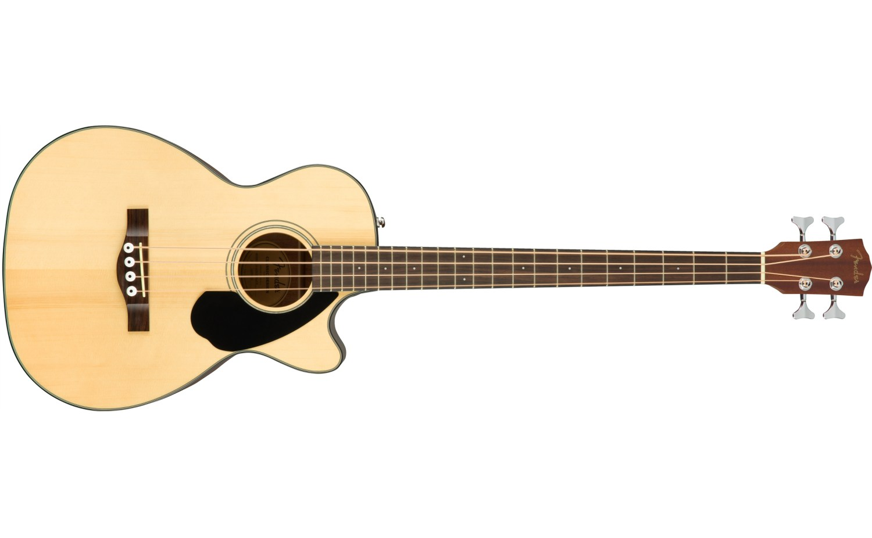 Fender CB-60SCE Acoustic Bass Guitar Natural