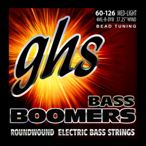 GHS BEAD Tuned Bass Boomers Strings