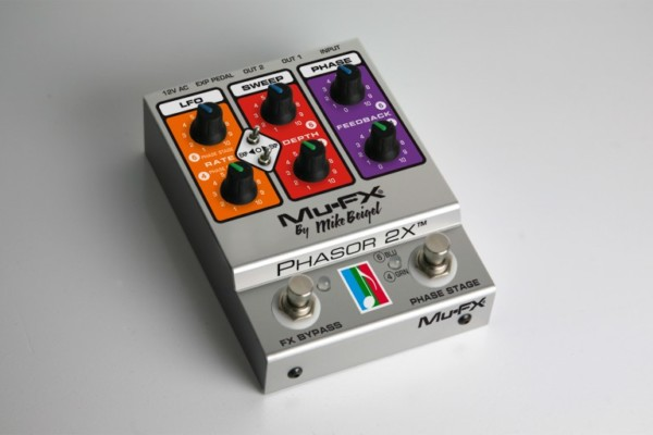 Mu-FX Introduces the Phasor 2X Pedal