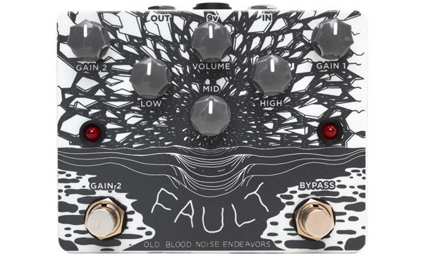 Old Blood Noise Endeavours Announces Fault Overdrive/Distortion Pedal
