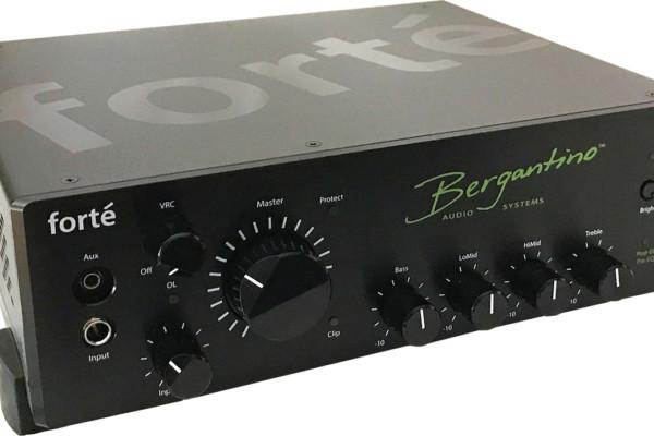 Bergantino Introduces the Forté Bass Amp