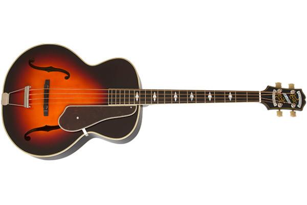 Epiphone Unveils Masterbilt Century Acoustic/Electric Bass Guitar