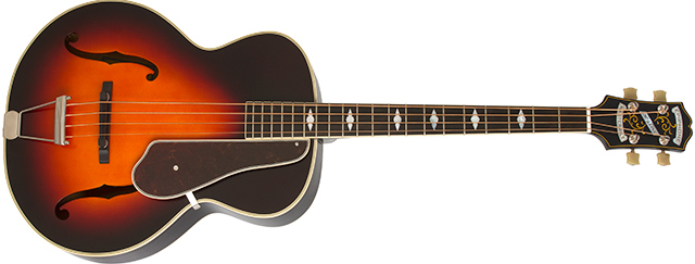 Epiphone Masterbilt De Luxe Classic Acoustic-Electric Bass
