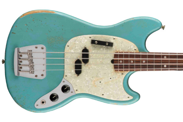 Fender Unveils the Justin Meldal-Johnsen Road Worn Mustang Bass