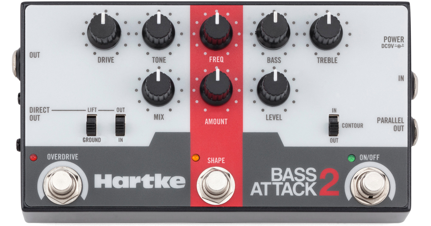 Hartke Bass Attack 2 Pedal
