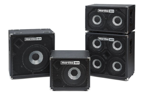 Hartke Unveils Enhanced HyDrive Bass Cabinets