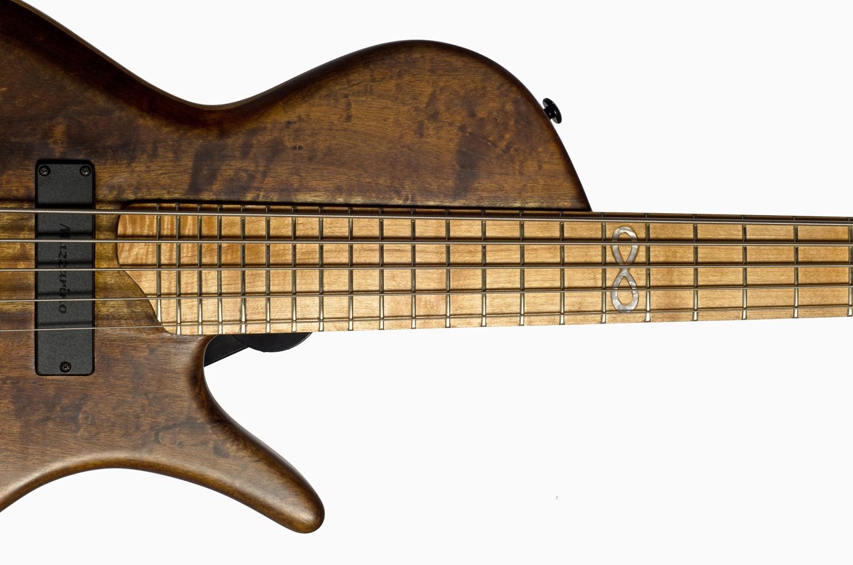 Hernan Gordon Astor Bass Fingerboard Inlay