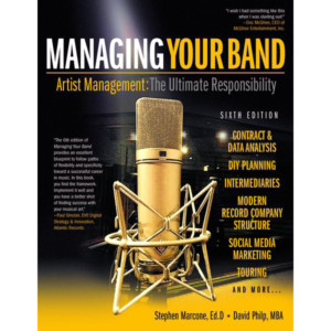 """Marcone and Philp Publish Updated Edition of """"Managing Your Band"""""""
