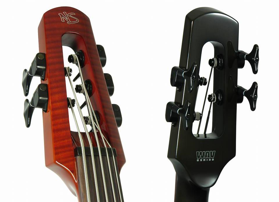 NS Design WAV Omni Bass Headstock