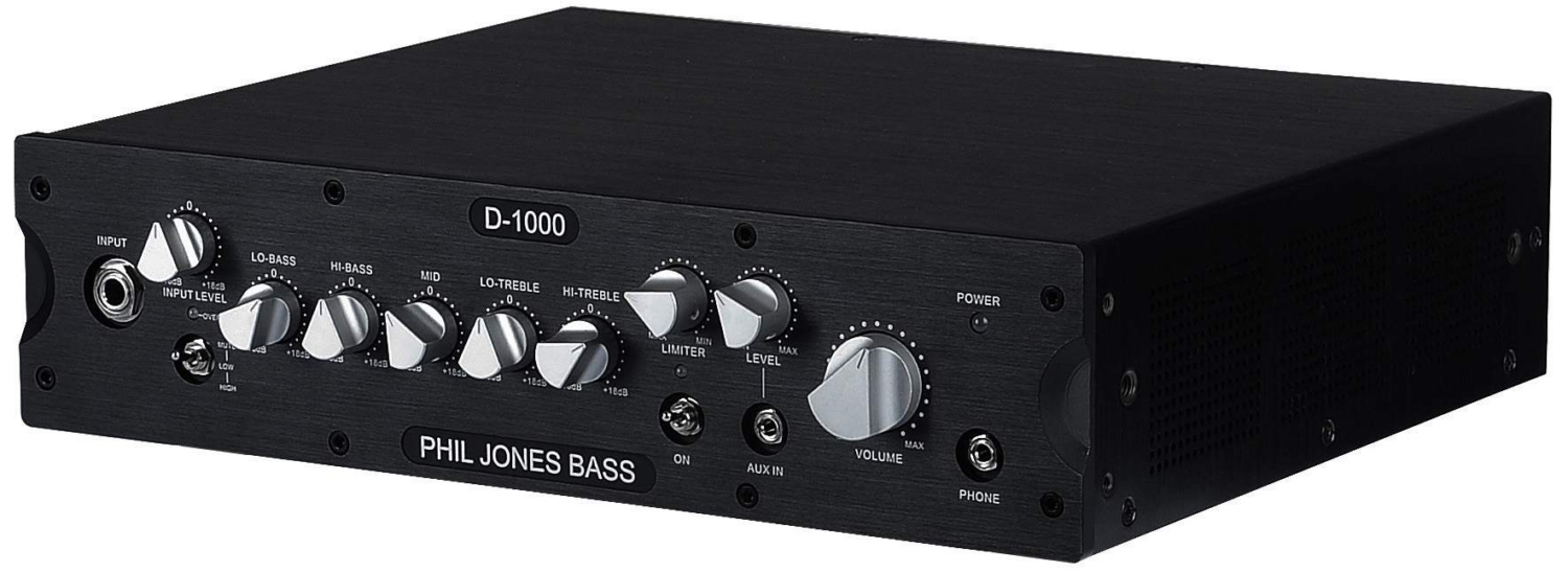 Phil Jones D-1000 Bass Amp