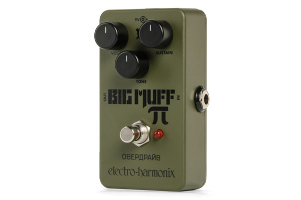 Electro-Harmonix Reissues the Green Russian Big Muff Distortion Pedal