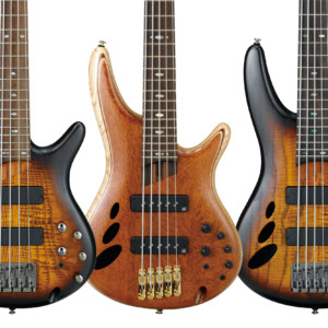 Ibanez Unveils 2nd Edition of 30th Anniversary SR Series Basses