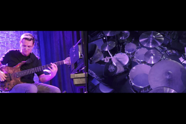 Holdsworth Tribute: Water On The Brain Pt. II (Bass & Drum Solos)