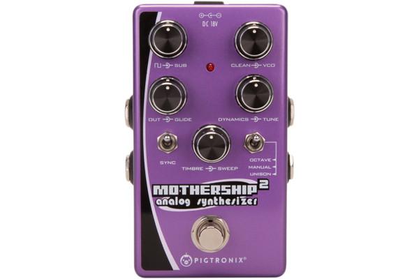 Pigtronix Announces Mothership 2 Analog Synthesizer