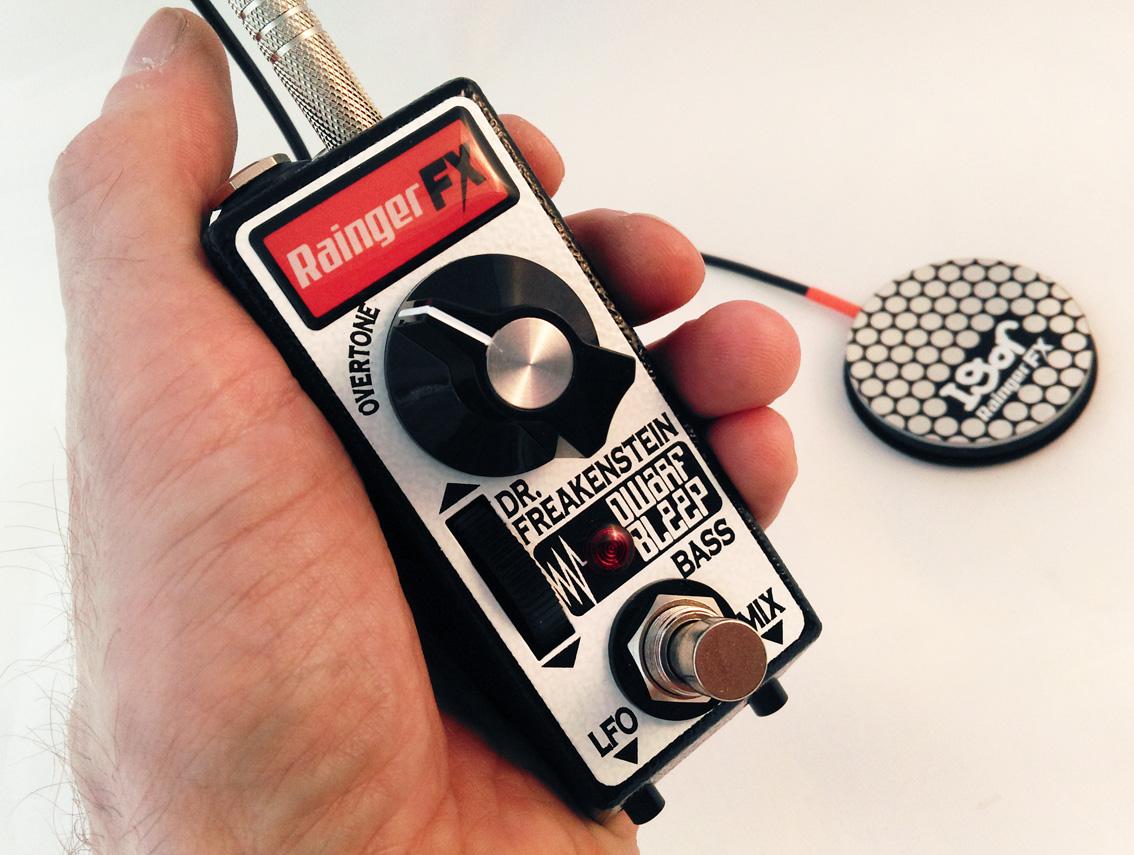 Rainger FX Dwarf Bleep Bass Pedal