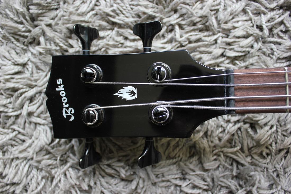 Brooks EB-RBL Bass Headstock